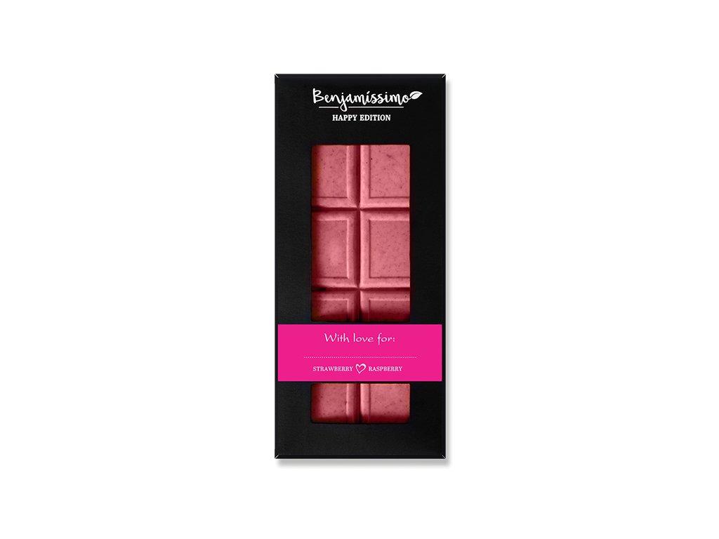 benjamissimo cokolada jahoda malina bio