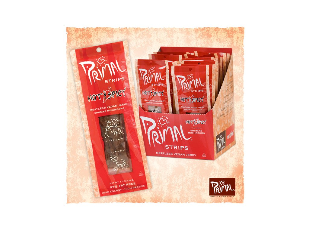 primal strips jerky hot and spicy