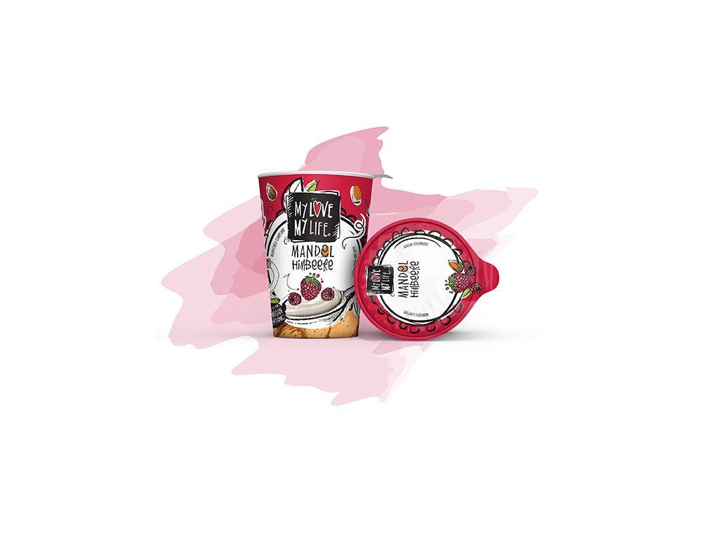 my love my life mandlova alternativa jogurtu s malinami bio