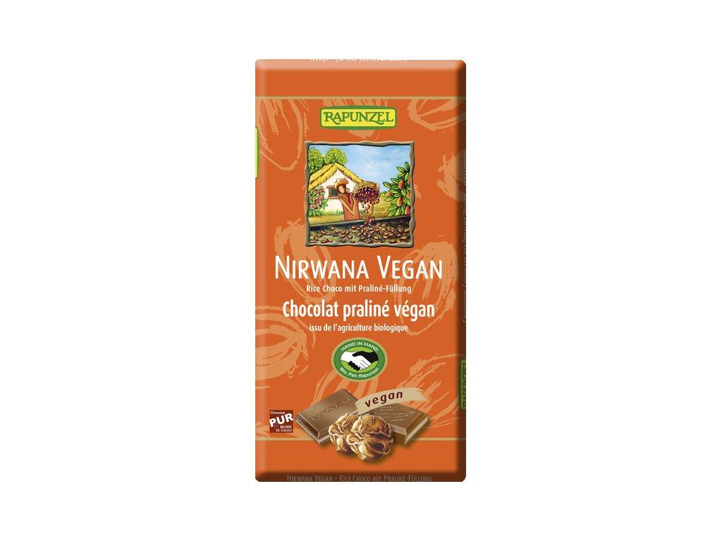 nirwana veganska cokolada s liskooriskovym praline