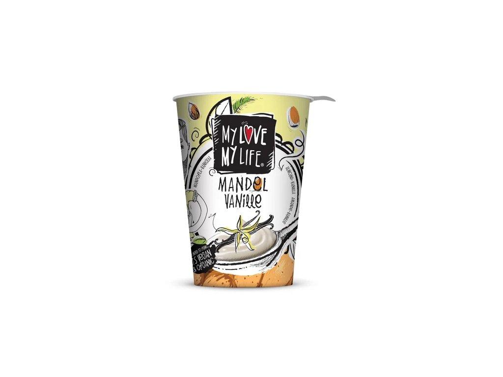 my love my life mandlova alternativa jogurtu s vanilkou bio
