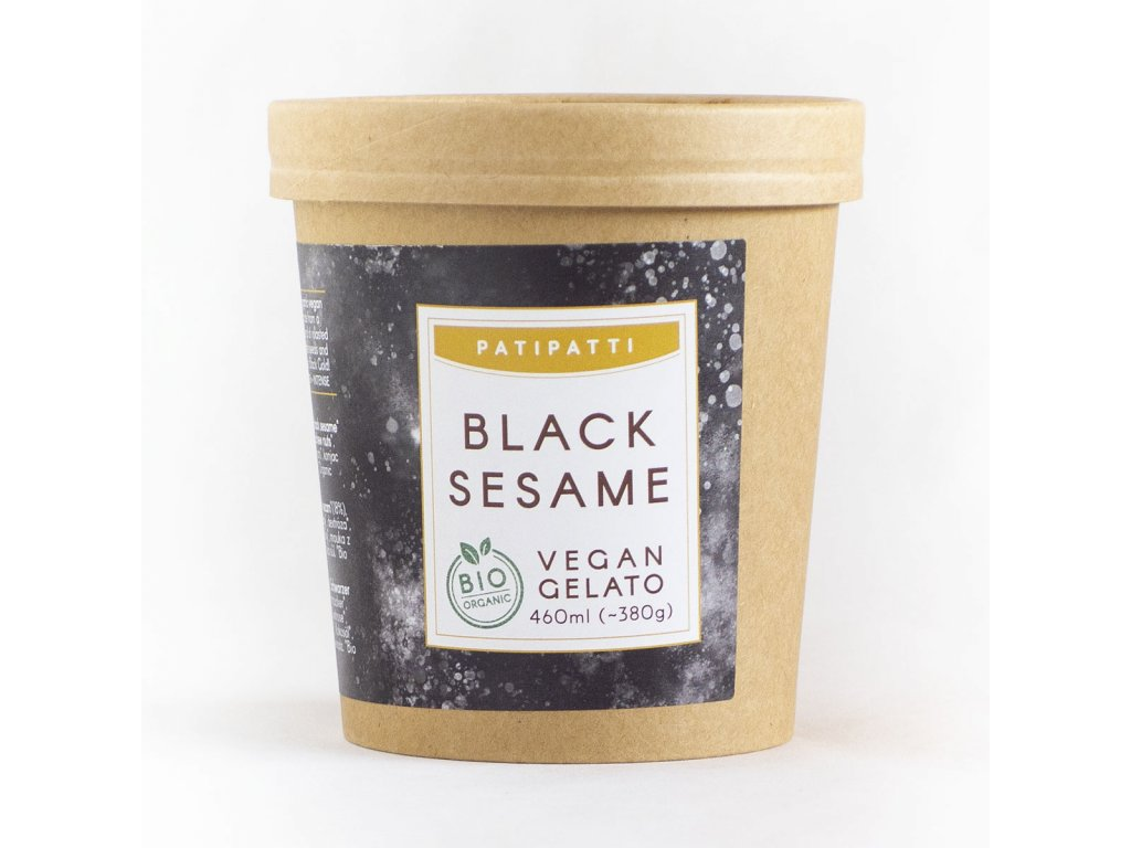 patipatti black sesame zmrzlina bio