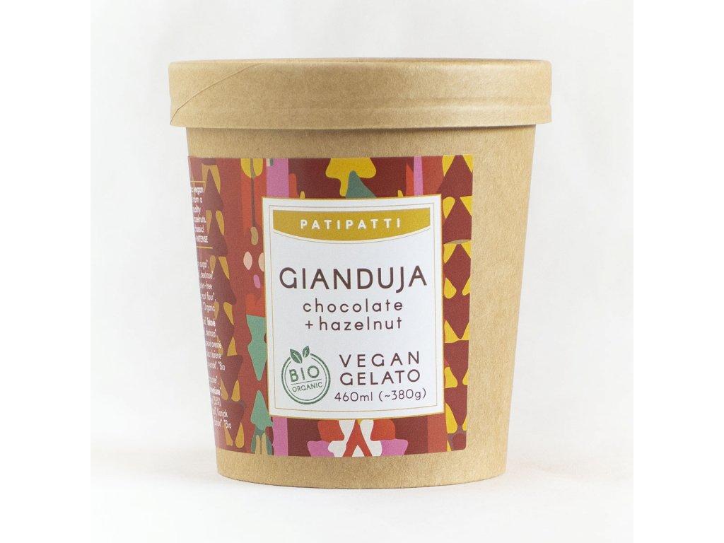 patipatti gianduja zmrzlina bio