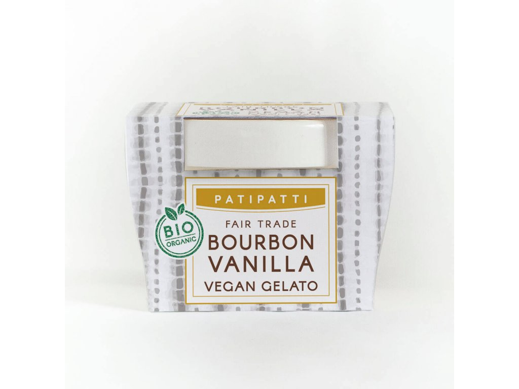 patipatti bourbon vanilla zmrzlina 100 ml bio