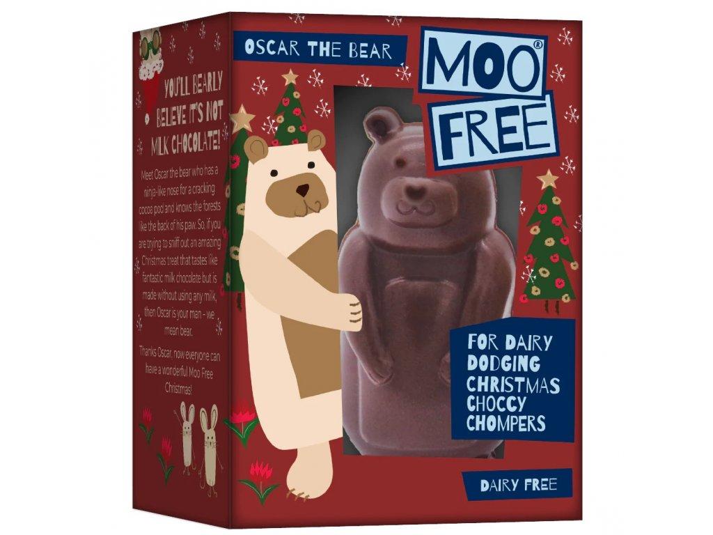 moo free cokoladovy medved oscar