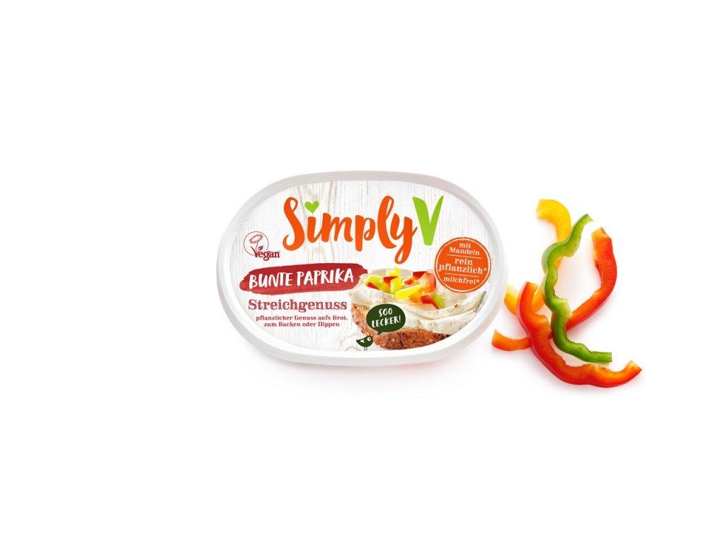 Simply V s barevnou paprikou