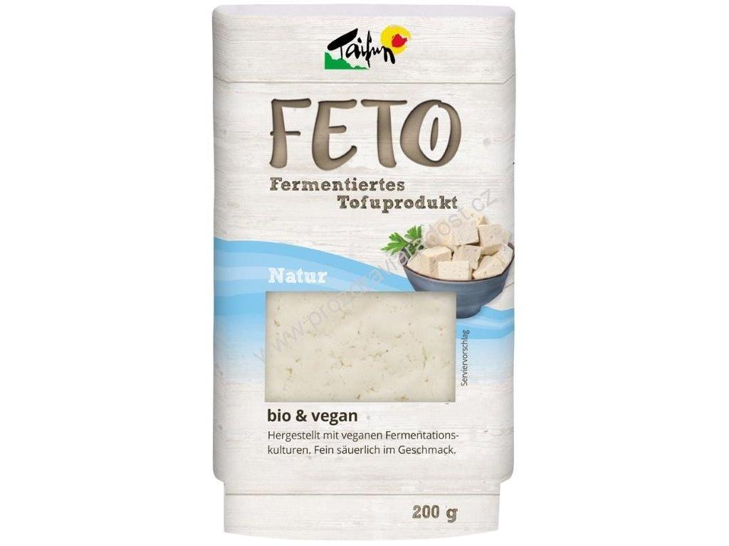 Feto - fermentované tofu přírodní, Bio
