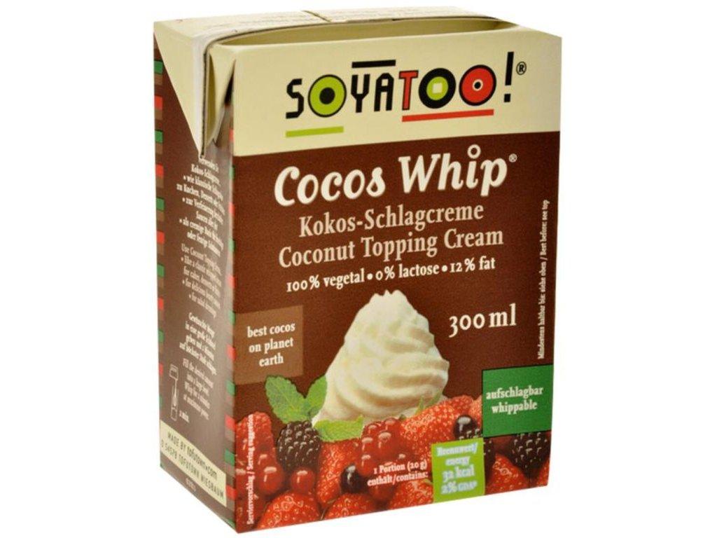 Kokosová alternativa šlehačky