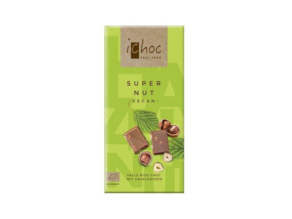Veganská oříšková čokoláda, Bio
