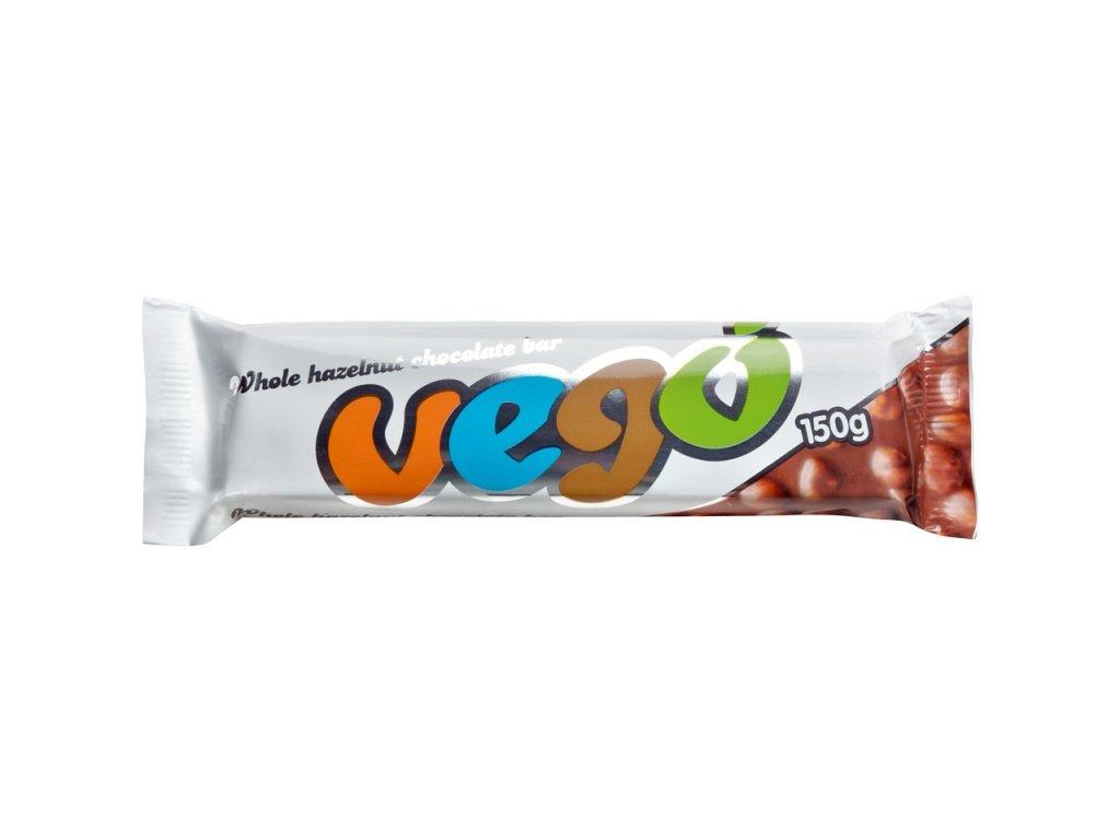 Vego - čokoláda s lískovými oříšky, Bio