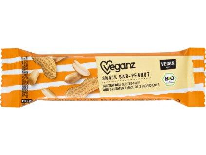 veganz arasidovy snack bar bio