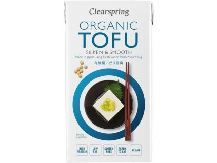 Clearspring hedvábné tofu, Bio