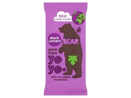 YO YO Bear černý rybíz