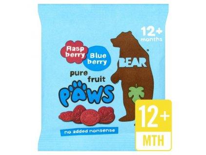 Bear malinovo borůvkové tlapky