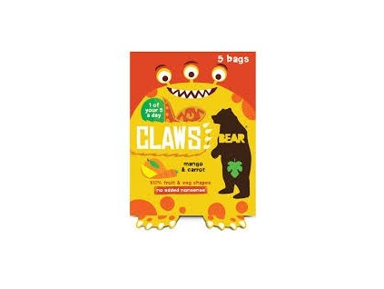 Bear drápky s mangem a mrkví