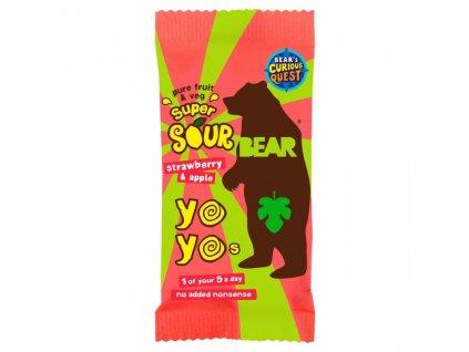 YO YO Bear kyselé jahody