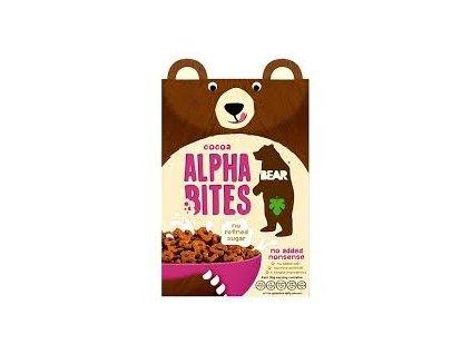 Bear celozrnná písmenka kakaová