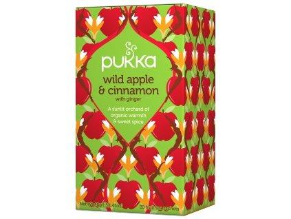 Pukka Divoké jablko a skořice, Bio