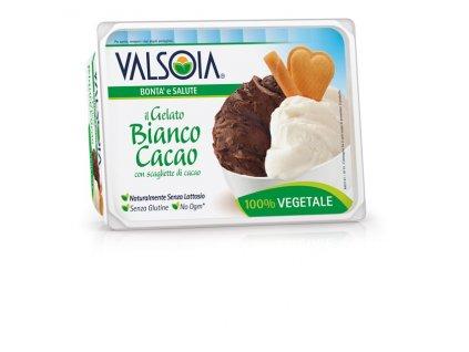 Valsoia krémová a čokoládová zmrzlina