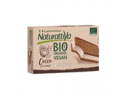 Naturattiva kokosové zmrzlinové sendviče, Bio