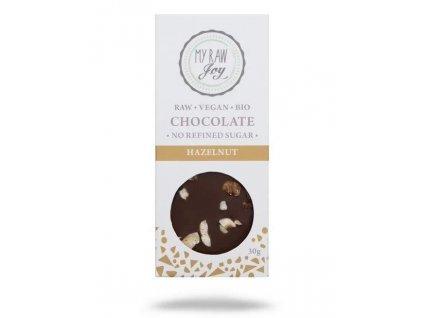 my raw joy raw cokolada s liskovymi orechy bio
