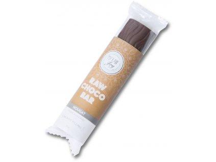 Raw čokoládová tyčinka s nugátem, Bio