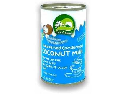 Slazené kokosové kondenzované mléko