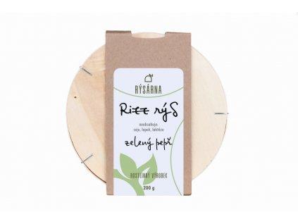 Rysarna rizz rys zeleny pepr