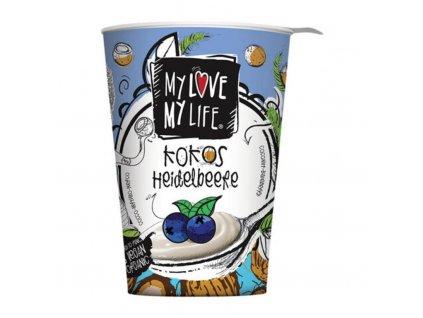 My Love My Life kokosová alternativa jogurtu s borůvkami, Bio