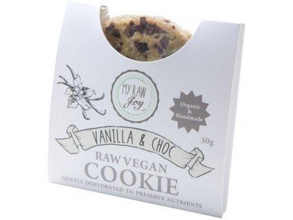 my raw joy raw susenka s vanilkou a cokoladovymi kousky bio
