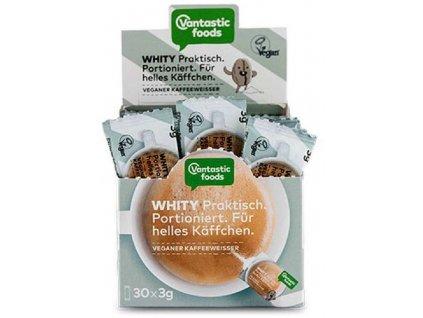 Whity - sušená alternativa smetany do kávy jednotlivě balená