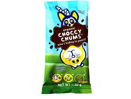 Moo-free Choccy Chums čokoláda, Bio