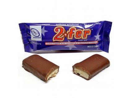 GoMaxGo cokoladova tycinka 2fer
