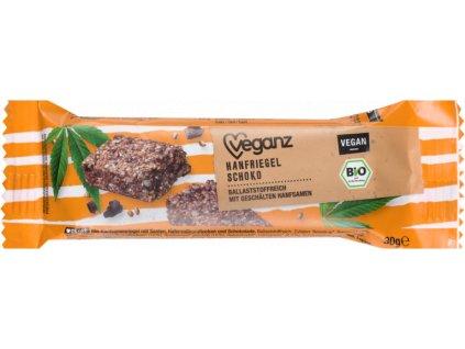 veganz konopna tycinka s cokoladou bio