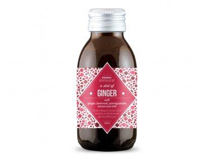 organic human shot ginger zazvor bio