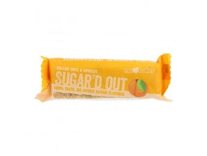 Sugar'd Out meruňkový flapjack bez cukru