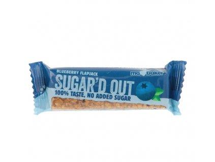 Sugar'd Out borůvkový flapjack bez cukru