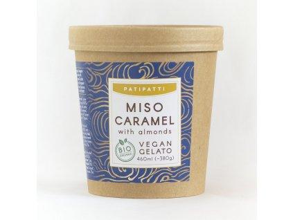 patipatti miso caramel zmrzlina bio