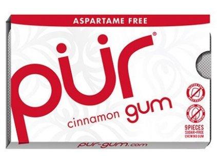 Žvýkačky Pür Gum skořicové