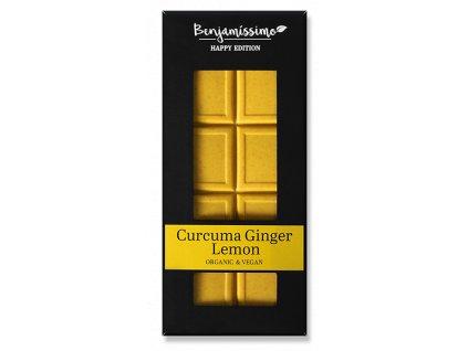 benjamissimo cokolada kurkuma zazvor citron bio