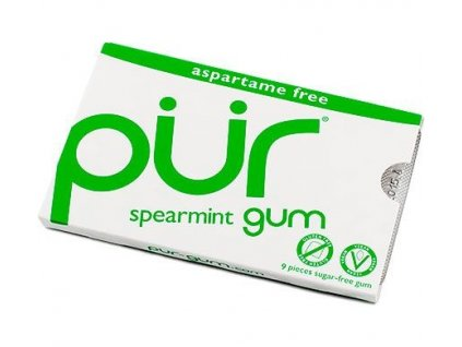 Žvýkačky Pür Gum Spearmint