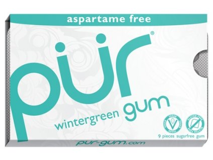 Žvýkačky Pür Gum Wintergreen