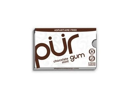 Žvýkačky Pür Gum Chocolate Mint