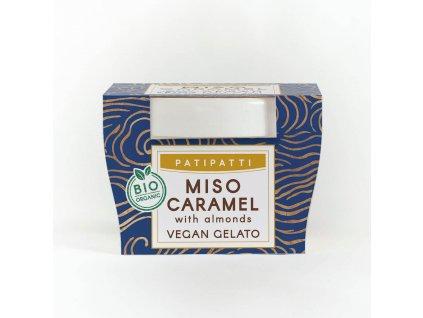patipatti miso caramel zmrzlina 100 ml bio