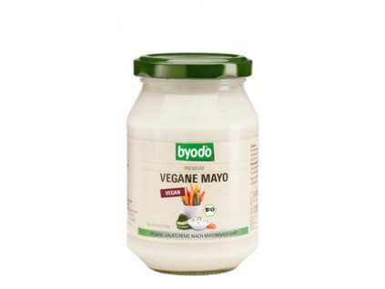 Veganská majonéza s 50% tuku, Bio