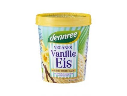 Dennree veganská vanilková zmrzlina, Bio