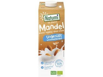 NATUMI Mandlový nápoj neslazený, Bio