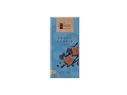 Čokoláda s kakaovými sušenkami, Bio