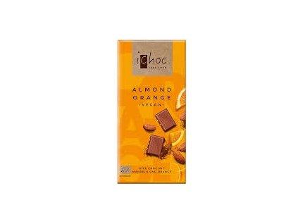 Čokoláda s mandlemi a pomerančem, Bio