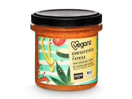 veganz konopna pomazanka s paprikou bio